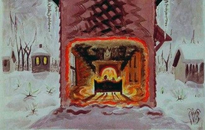 A Closer Look: Charles E. Burchfield's 'Dreaming of Christmas'
