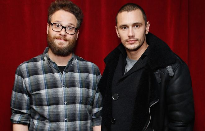 """Seth Rogen and James Franco's movie, """"The Interview,"""" has caused quite a stir with North Korea. (Getty Images)"""