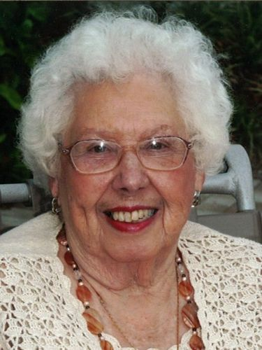 Florence M. Eikenburg, retired teacher's aide