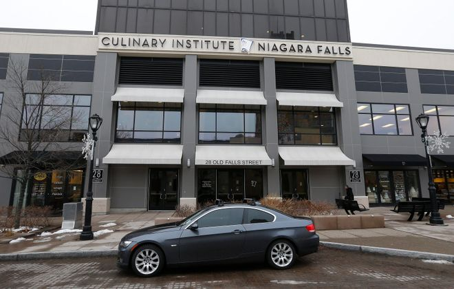 Niagara Falls Culinary Institute on Old Falls Street in Niagara Falls. (Robert Kirkham/News file photo)