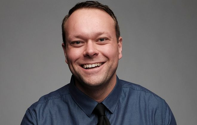 Aaron Kleiber is the featured comedian at Rob's Comedy Playhouse.