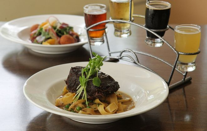 The owner of Brick Oven Bistro, which pumps out this beef short rib, will open a downtown location on Genesee Street. (Sharon Cantillon/Buffalo News file photo)