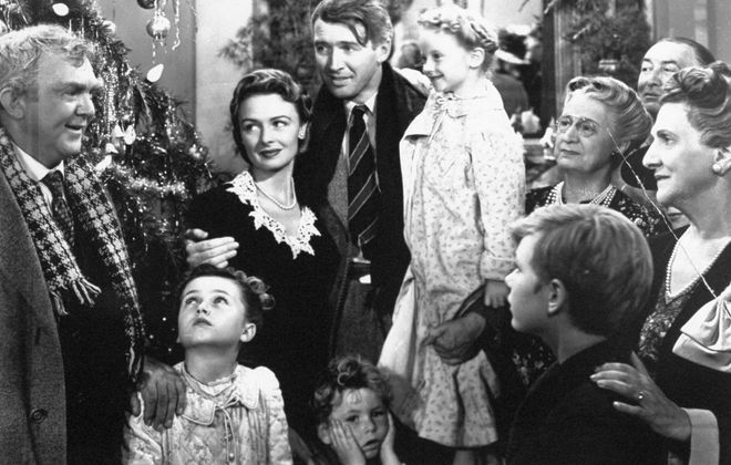 """""""It's a Wonderful Life"""" will be shown at the Screening Room Cinema Cafe."""