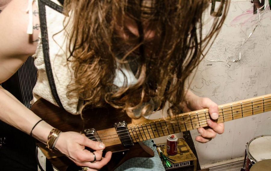 John Toohill of The Hamiltones plays with passion. (Mark Duggan)