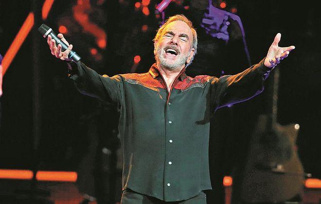 Neil Diamond performed Tuesday night in the First Niagara Center. (Sharon Cantillon/Buffalo News)