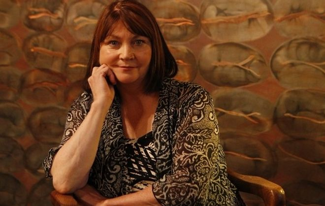 """Josephine Hogan will read from """"The Gaol Gate"""" by Lady Gregory as part of the Against the Grain Theatre Festival's presentation of """"Looking Into a Broken Mirror."""""""