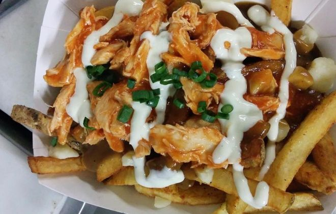 The Buffalo Chicken Wing Poutine from Allen Street Poutine. (Allen Street Poutine's Facebook page)