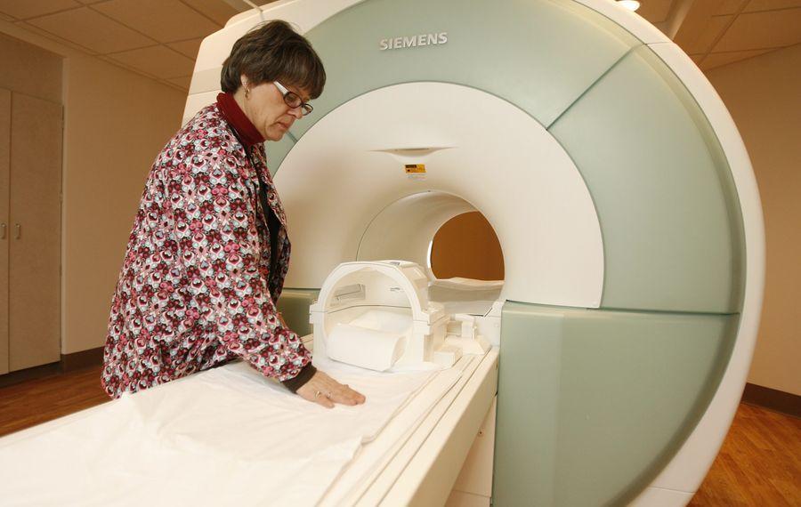 File photo shows an MRI technician at Eastern Niagara Hospital of Lockport. (Buffalo News file photo)