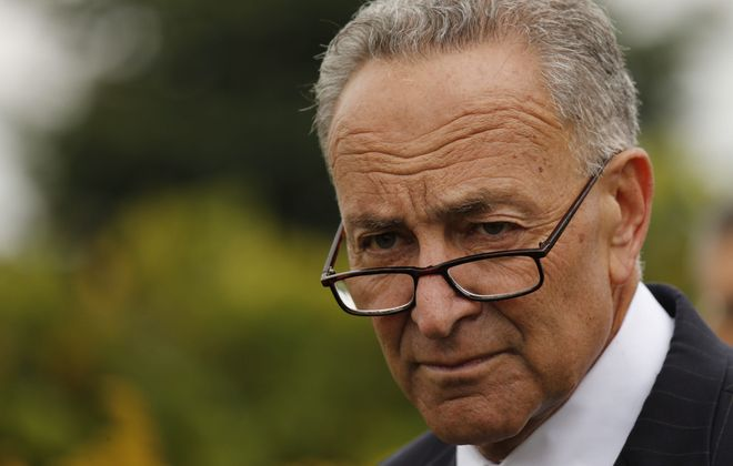 Sen. Charles Schumer could become leader of Senate Democrats, now that Harry Reid has announced his retirement.  (Derek Gee/Buffalo News)