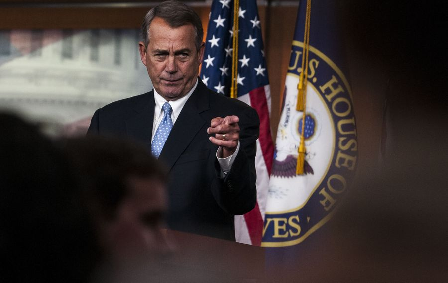 House Speaker John A. Boehner, R-Ohio, negotiated with Minority Leader Nancy Pelosi, D-Calif., on legislation that would finally end an annual threat to payments that doctors get for treating Medicare patients. The result was overwhelming bipartisan approval, 392-37.