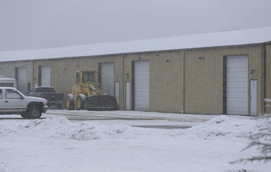 DEA agents raided this storage facility on Bedell Road, Grand Island, last week, and say they found a suspected meth lab.