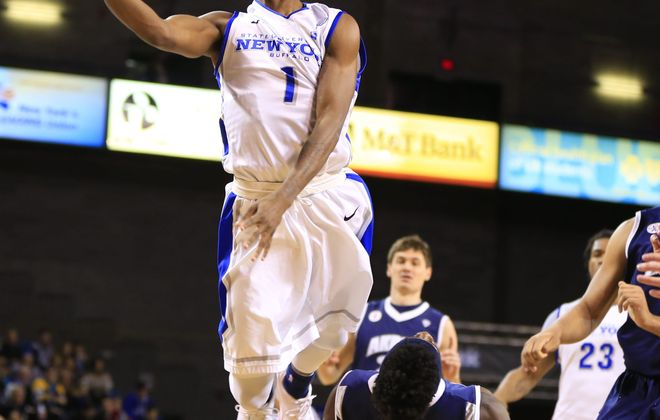 "UB freshman Lamonte Bearden ""has a ton of confidence in his game,"" according to head coach Bobby Hurley."