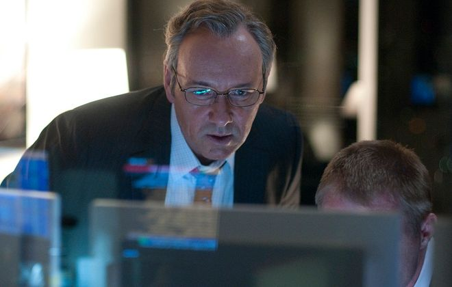 """Kevin Spacey stars in """"Margin Call,"""" a J.C. Chandor film that will screen at Burchfield Penney Art Center. (Walter Thomson)"""