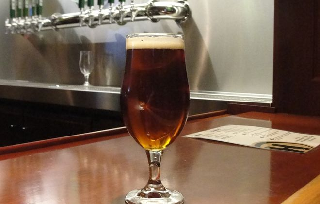 The Irish Red Ale from Hamburg Brewing Company. (Matt Kresconko/Special to the News)