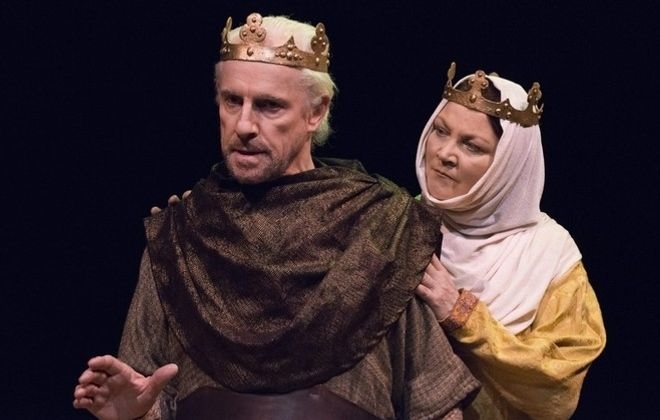 """Vincent O'Neill and Josephine Hogan are extraordinary in the Irish Classical Theatre Company's production of """"The Lion in Winter."""""""