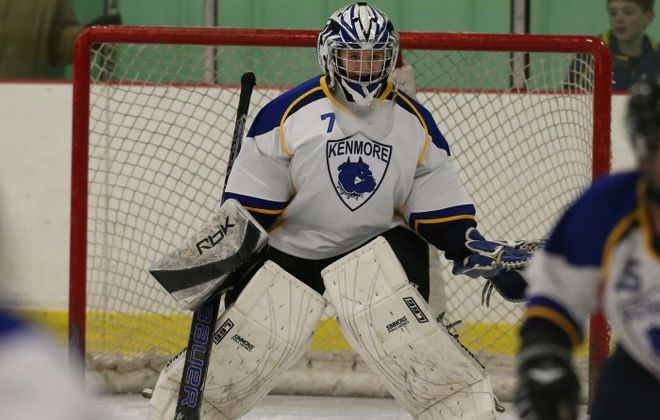Goalie Lauren Pray wants to help Kenmore to another Section VI and Federation girls hockey championship.
