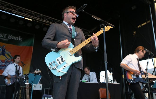 Former Barenaked Ladies frontman Steven Page will perform in Niagara Falls in the Bear's Den. (Buffalo News file photo)