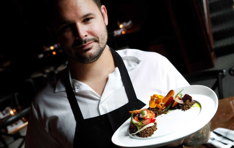 Edward Forster, of Buffalo Proper, joins the Nickel City Chef home team for the 2015 season