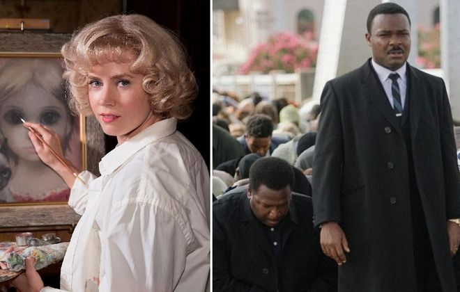 Amy Adams, left, and David Oyelowo are picked as big snubs for the Oscar nominations.