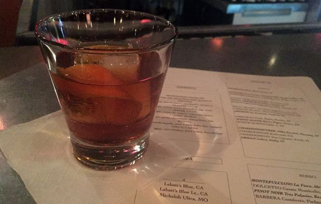 The Vieux Carre from Tappo Restaurant in downtown Buffalo. (Lizz Schumer/Special to the News)