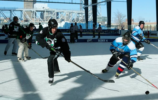The twin rinks at Buffalo RiverWorks host a variety of events including games and public skating. (Derek Gee/ News file photo)