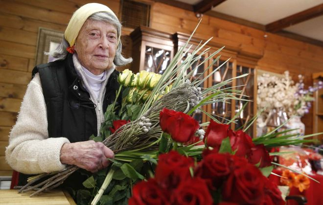 "Fann Markel of The Floristry has been arranging and selling flowers out of her shop near Gates Circle for 50 years, but she does not grow flowers herself. ""I'd like to, but I don't know where I'd grow them,"" she says. ""The place I live now has a roof garden, but my life is here."""