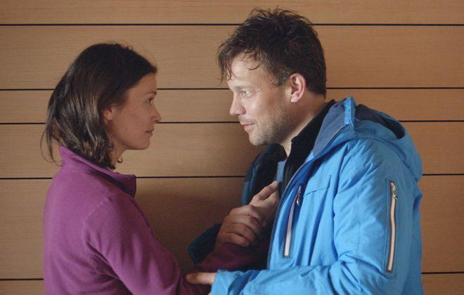 "Lisa Loven Kongsli and Johannes Bah Kuhnke in ""Force Majeure."" (Magnolia Pictures)"