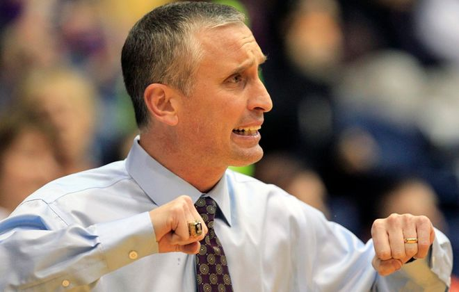 Bobby Hurley is in his fourth season as Arizona State's men's basketball coach. He coached for two seasons at UB. (Harry Scull Jr./News file photo)