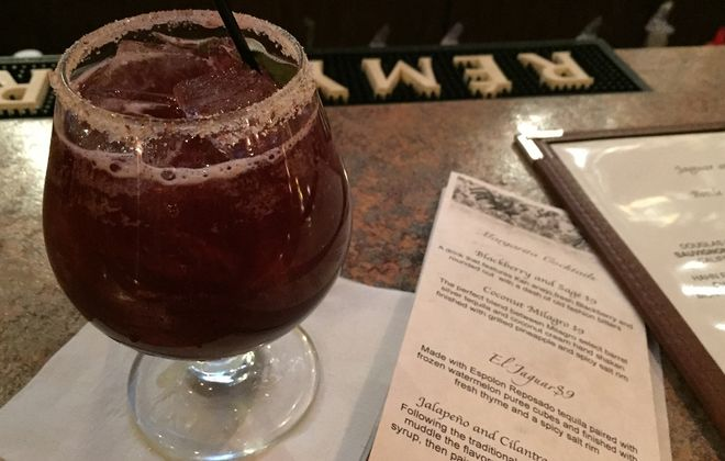 The Blackberry and Sage from Jaguar at the Bistro in Youngstown. (Lizz Schumer/Special to the News)