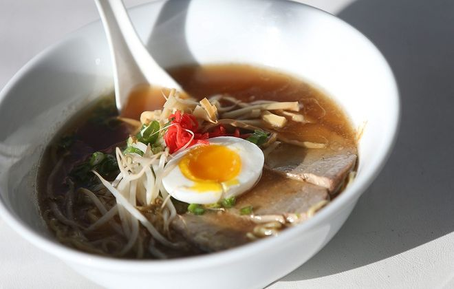 Buffalo Soup-Fest will be rescheduled for late Match. Pictured is the ramen from Sato, which had planned to offer three soups on Sunday. (Robert Kirkham/Buffalo News file photo)