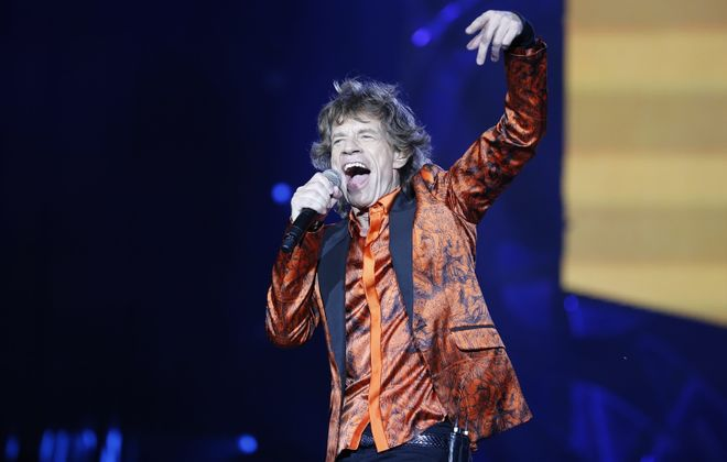 The Rolling Stones at what was then called Ralph Wilson Stadium in July 2015. (Harry Scull Jr./News file photo)