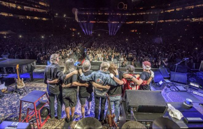 The Grateful Dead will bid us a final good night on Sunday.