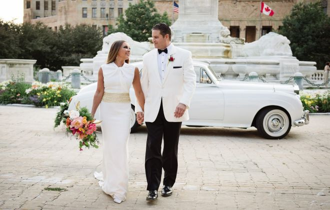 Actress and singer Vanessa Williams married Jim Skrip, of Depew, in a secret wedding at the Statler on July 4.