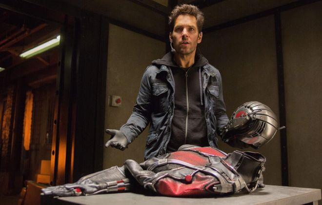 "Paul Rudd stars as ""Ant-Man."""