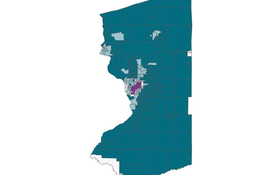 Racial divide in Buffalo Niagara