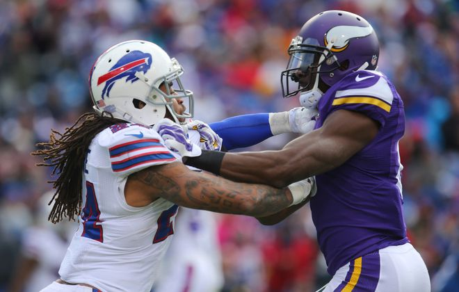 Stephon Gilmore had 46 tackles, three interceptions and one forced fumble last year for the Bills.