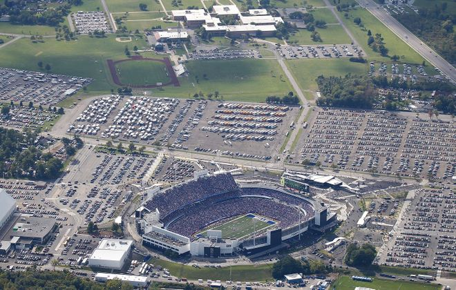 Vic Carucci says a downtown replacement for New Era Field is inevitable, but will take time. (Sharon Cantillon/Buffalo News file photo)