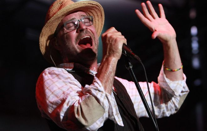 Tragically Hip frontman Gord Downie died Tuesday night at age 53. (Sharon Cantillon/Buffalo News file photo)