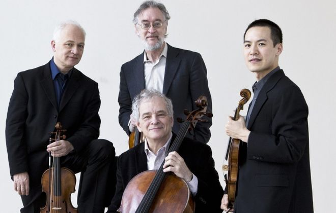 A concert by the Juilliard Quartet will close out the Buffalo Chamber Music Society season on Tuesday.