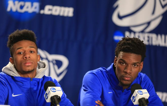Shannon Evans will consider stay- ing at UB.