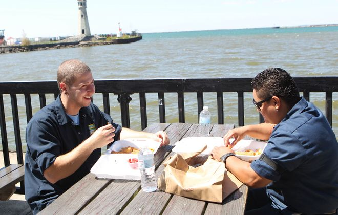 The season for outdoor eating has started; see when your favorite seasonal restaurant opens. (Sharon Cantillon/Buffalo News file photo)