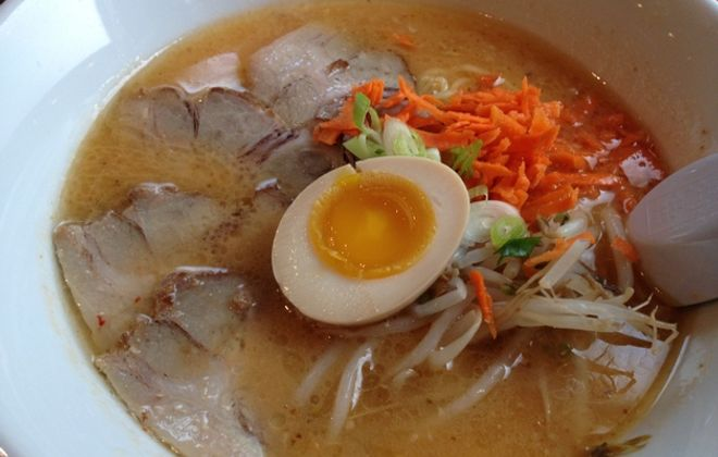 Sato Ramen will offer spicy miso ramen and more, with housemade noodles. (Andrew Galarneau/Special to the News)