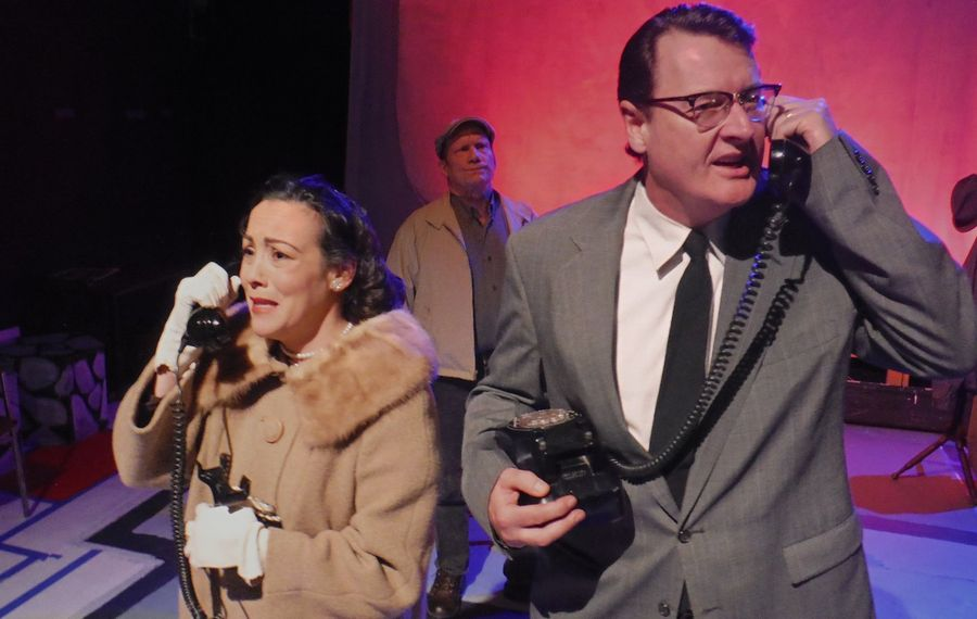 "Lisa Vitrano, Richard Lambert and Guy Wagner are superb in ""The Un-American"" at Subversive Theatre."