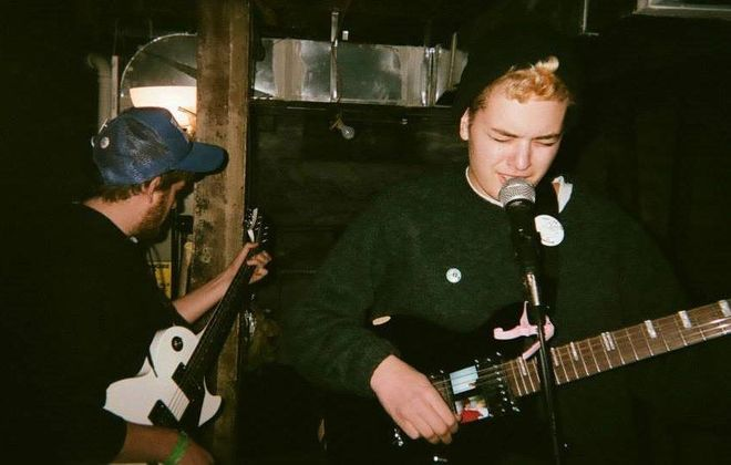 Adult Mom is one of several bands scheduled to perform in Steak and Cake Records' Parlor Trix series, Round 3.