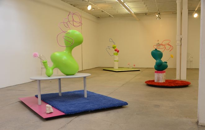 """""""Roberly Bell: Some Things"""" is on view through May 29 in Body of Trade and Commerce Gallery."""