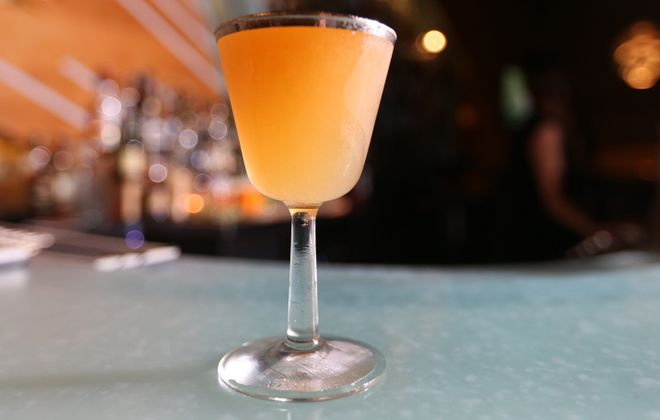 Craft cocktails, like Bourbon and Butter's 100th Problem, can be both complex and delicious.  (Sharon Cantillon/Buffalo News)