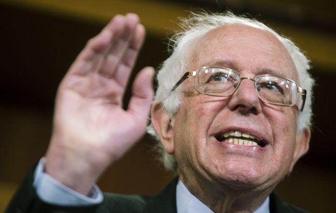 Sen. Bernie Sanders (Zach Gibson/The New York Times)
