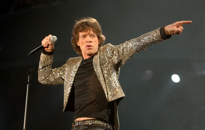 Mick Jagger and the Rolling Stones will play Ralph Wilson Stadium on Saturday. (Harry Scull Jr./News file photo)