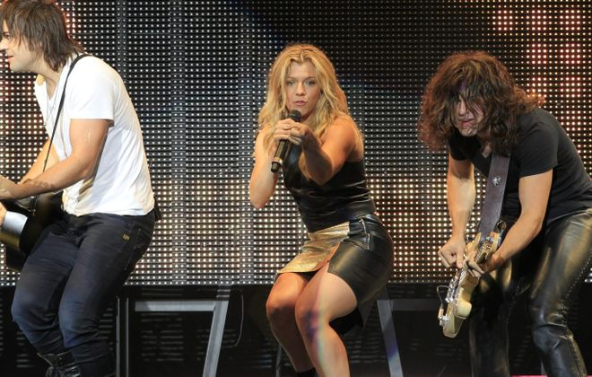 The Band Perry headlines the local outdoor music festival Jam in the Valley on July 3.