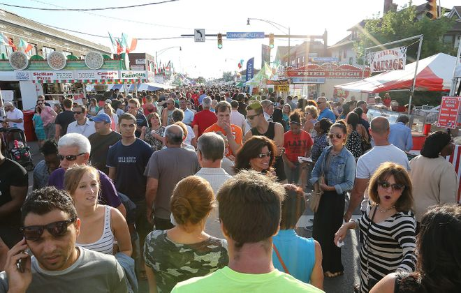The Italian Festival on Hertel Avenue is one of Buffalo's most popular summer festivals. (Buffalo News file photo)